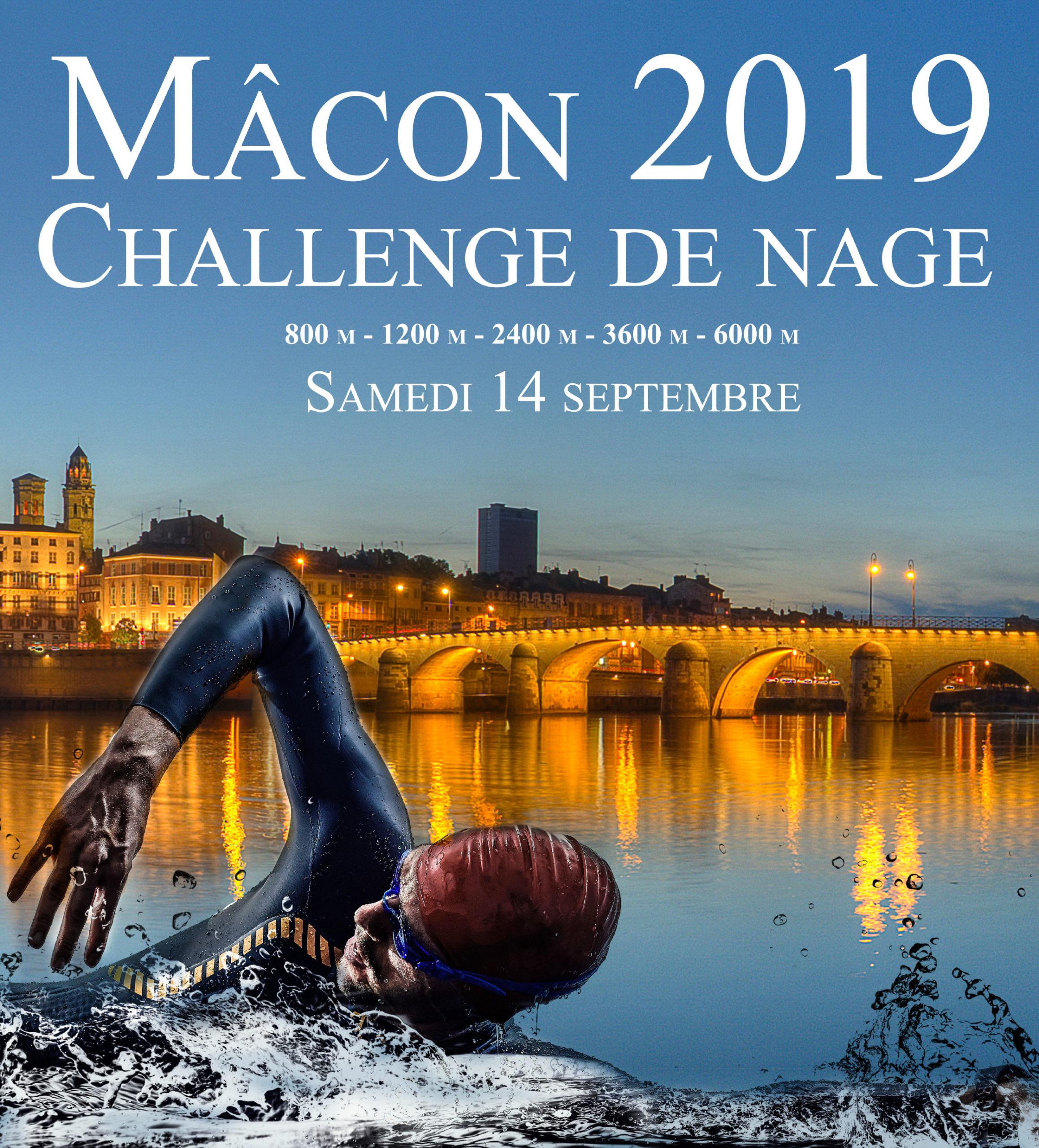 Challenge de nage, septembre 2019