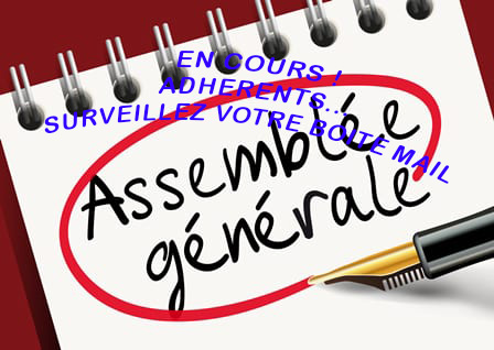 Assemblée générale – samedi 20 février 2021