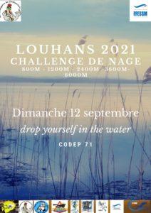 Challenge de nage 2021
